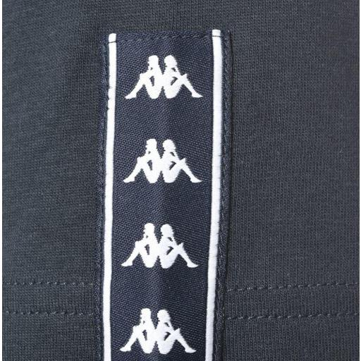Camiseta Manga corta Kappa Irwing Tee. 3112DKW. Blue navy-green-white. [3]