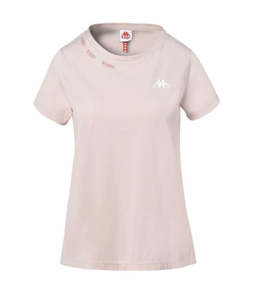 Camiseta de manga corta para mujer Kappa Yani Aut. 3112DQW. Pink