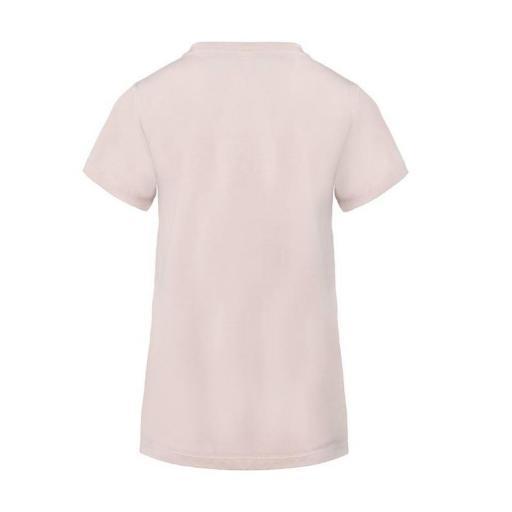 Camiseta de manga corta para mujer Kappa Yani Aut. 3112DQW. Pink [1]