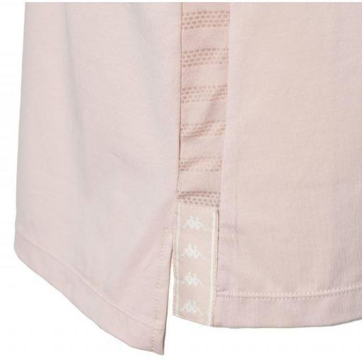 Camiseta de manga corta para mujer Kappa Yani Aut. 3112DQW. Pink [2]