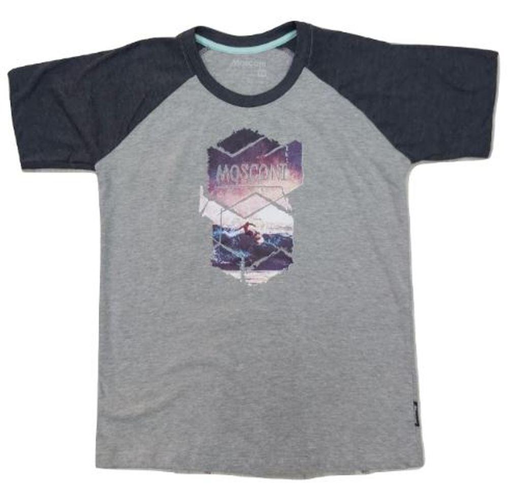 Camiseta Manga corta Mosconi Cux. Vigoré-negro. 235113