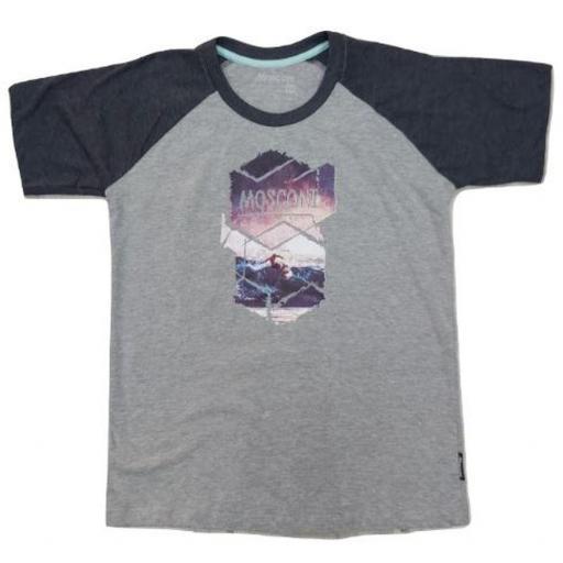 Camiseta Manga corta Mosconi Cux. Vigoré-negro. 235113 [0]