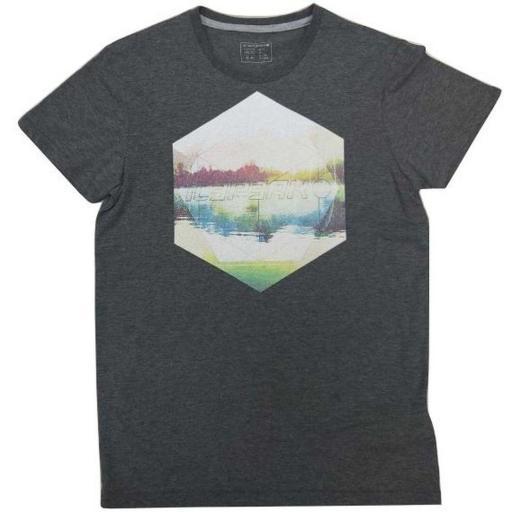 Camiseta manga corta Icepeak Edgar. Gris.  [0]