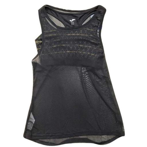 Camiseta Tirantes y Top Joma Pada Negro. 900751.100
