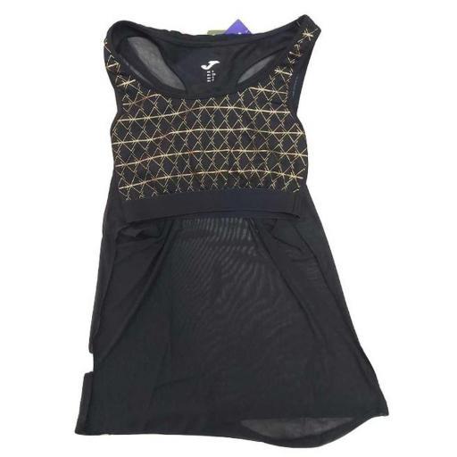 Camiseta Tirantes y Top Joma Pada Negro. 900751.100 [1]