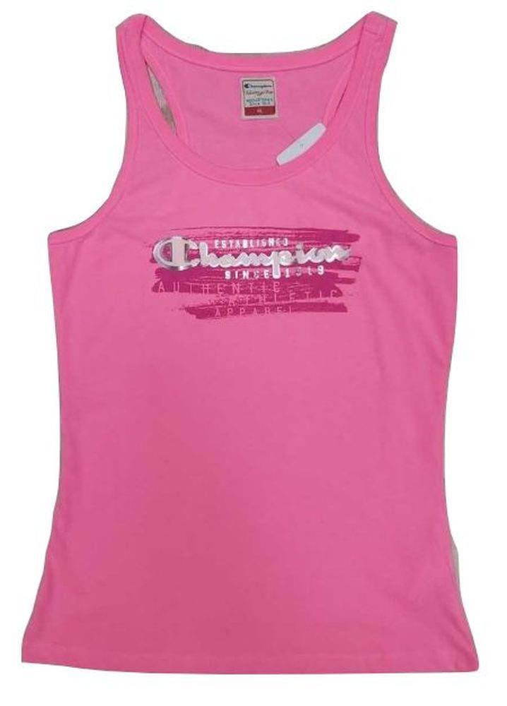 Camiseta de Tirantes Mujer Champion Customfit. Rosa 108707