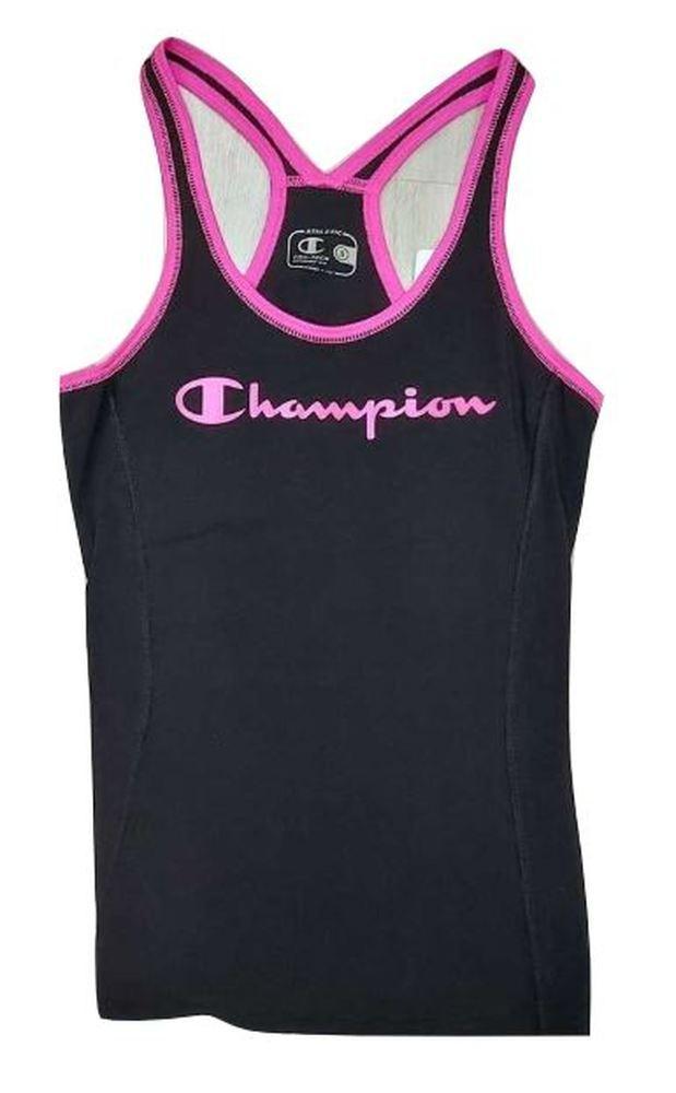 Camiseta Tirantes Mujer Fitness Champion At