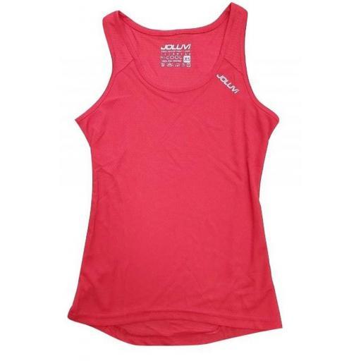 Camiseta Técnica Tirantes Joluvi Ultra Tir W. 234853 Rojo