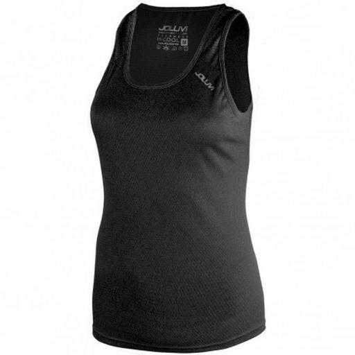 Camiseta Técnica Tirantes Joluvi Ultra Tir W. 234853 Black.