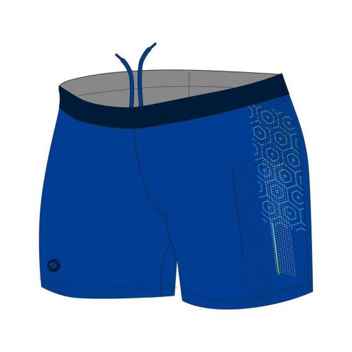 Shorty Piscina Hexa Boy Azul Real