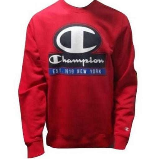 Sudadera Champion Graphic Authentic. 214822 RS005 Rojo.