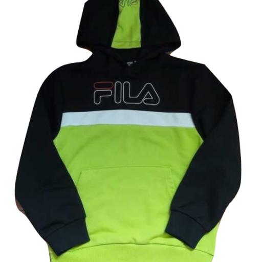 Fila Sudadera Teens Boys Simone. 8660339. Acid lime-black.