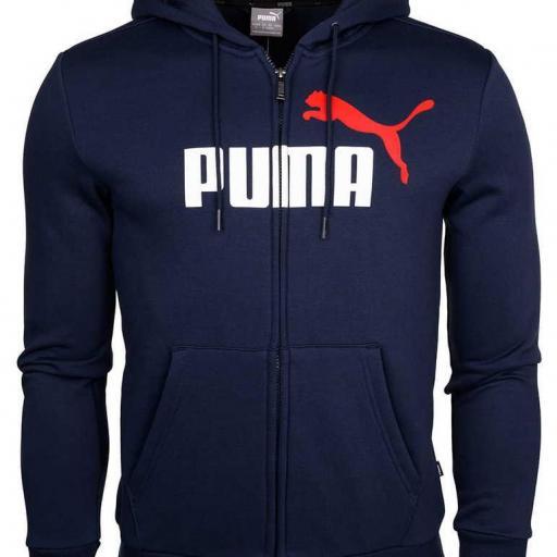 Puma ESS 2 Col FZ Hoodie FL M 583715 06  [1]