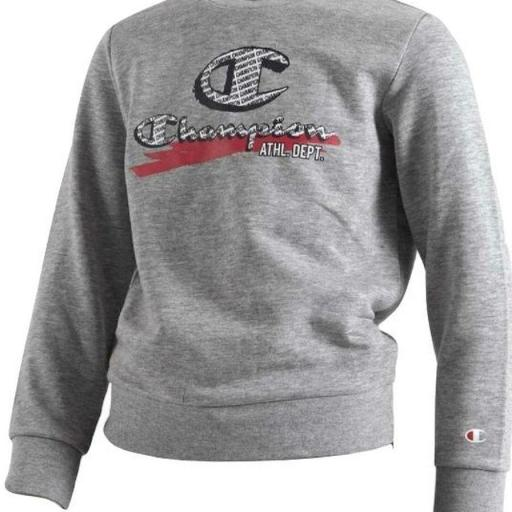 Champion Sudadera Junior. 305439 Gris.
