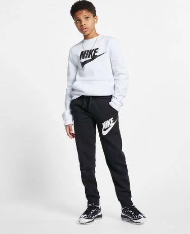 Pantalón Niño Nike Sportwear Club Fleece. BV0786-010. Black.