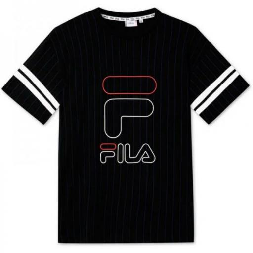 Fila Teens Boys Junias Striped. 683339 Black.