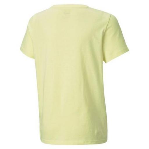 PUMA Camiseta Sportswear Puma Alpha Graphic. 585887 40. Yellow. [1]