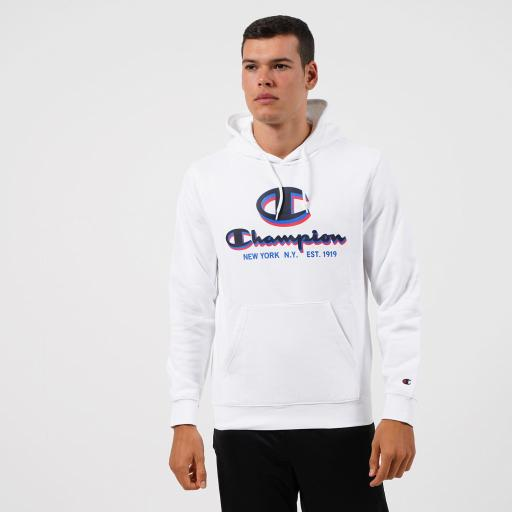 Champion Sudadera Legacy Collection. 214821 WW001. White.