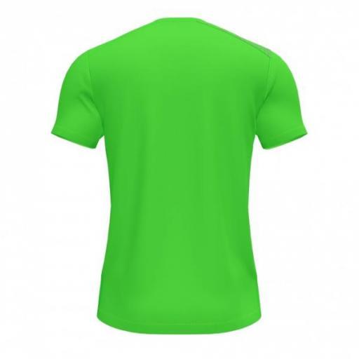 JOMA Elite VIII Short Sleeve Camiseta Hombre. Flúor green. 102242.020 [3]
