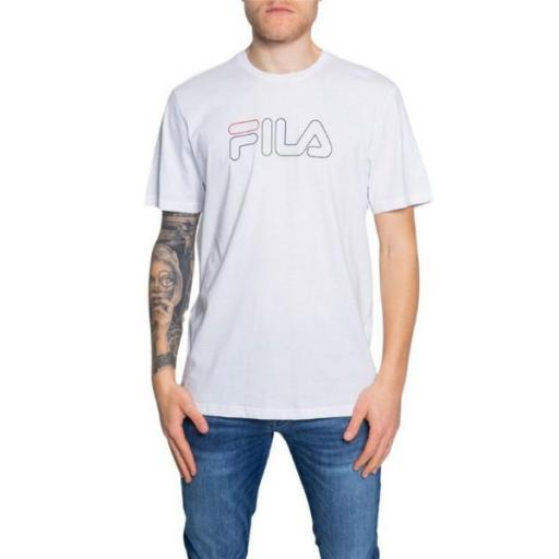 FILA Men Paul Tee. 960933 White. Camiseta Hombre.