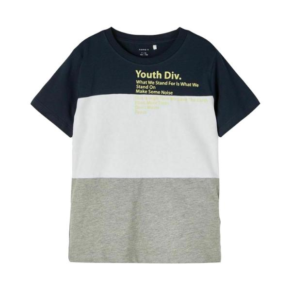 Name It. Camiseta Estampada. NKMDOGAN SS TOP BOX.