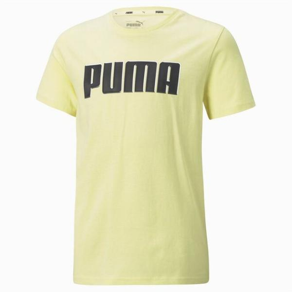 PUMA Camiseta Sportswear Puma Alpha Graphic. 585887 40. Yellow.