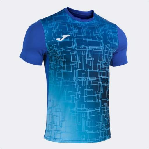 JOMA Elite VIII Short Sleeve T-shirt royal. 101929.700.