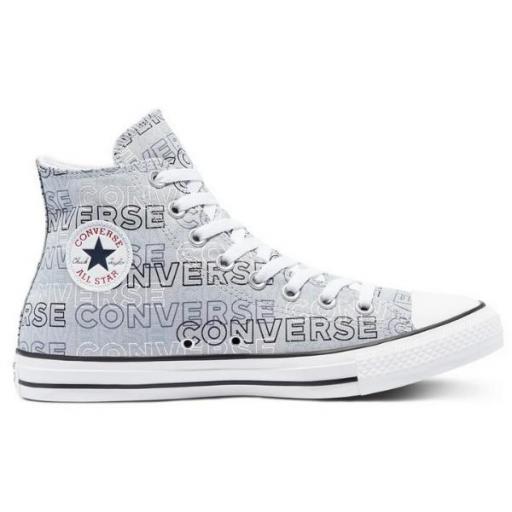 CONVERSE Chuck Taylor All Stars HI. Gravel/black/white. 170665C