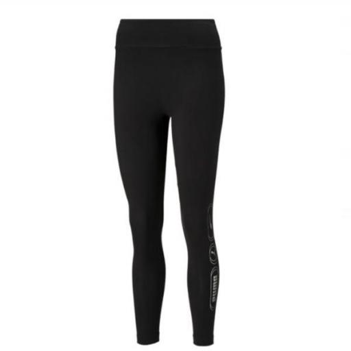 PUMA Rebel High 7/8 Leggings. Black. 585836 31.