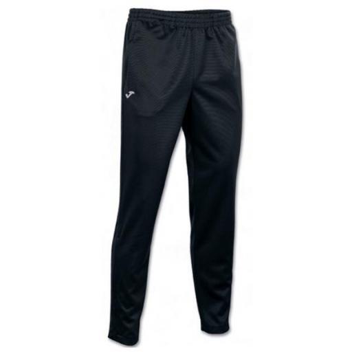 JOMA STAFF Long Pant POLY Interlock Black. 100027.100. Niños