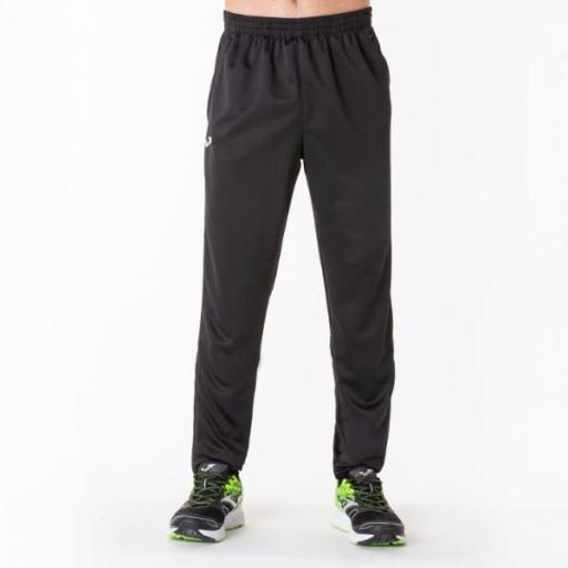 JOMA STAFF Long Pant POLY Interlock Black. 100027.100. Hombre [1]