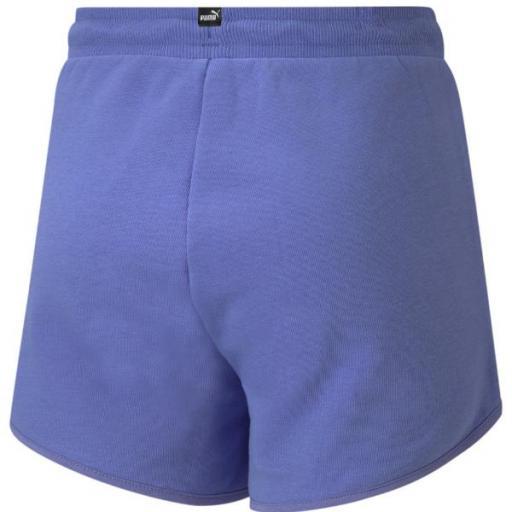 PUMA Rebel Shorts. Hazy blue. 586159. Pantalón corto niña. [1]