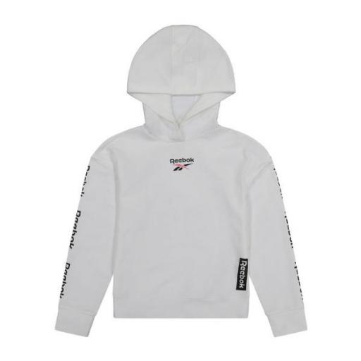 REEBOK Multi Hit Pullover. White. EX7682