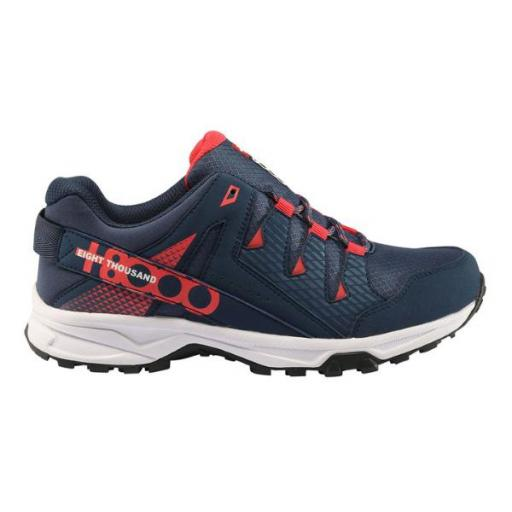 +8000 TIGRI W. Azul marino/rosa. Trekking Mujer.