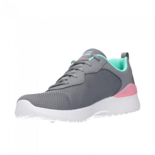 SKECHERS Skech-Air Dynamight-Radiant Choice. 149346/GYMN. Gray/mint. [2]