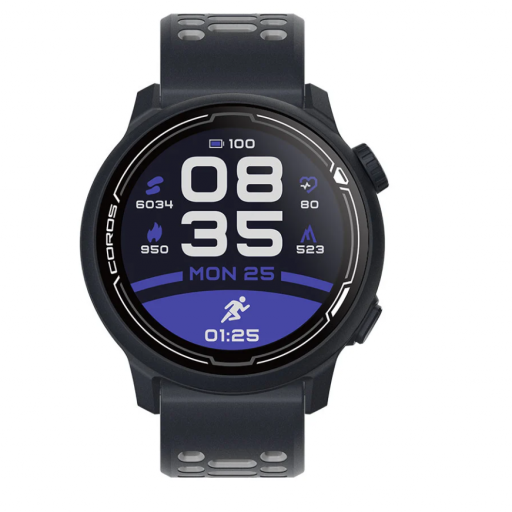 Coros Pace 2. Dark Navy. Silicone Band.