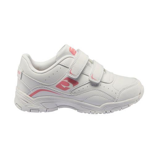 Zapatillas John Smith CUDER blanco-rosa