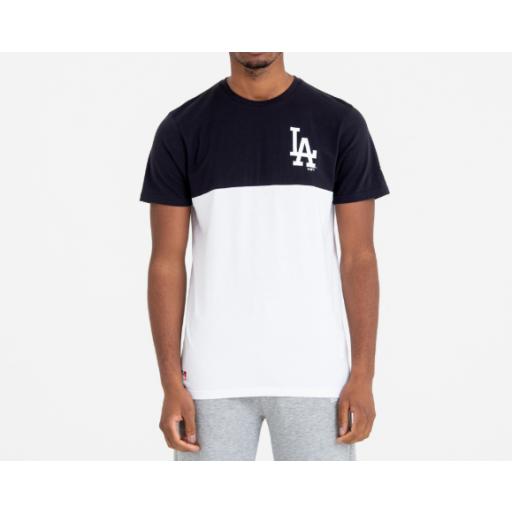 Camiseta Los Anegles Dodgers NEW ERA. Color block. 11860155 [0]