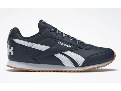 Zapatillas REEBOK ROYAL CLJOG 2 KIDS. DV9078. Collegiate navy/white.