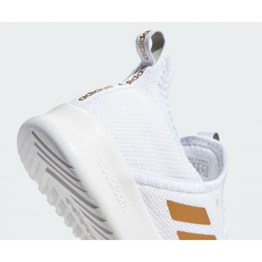 Zapatillas Running Mujer Adidas Cloudfoam Pure. White/gold. EG3821 [1]