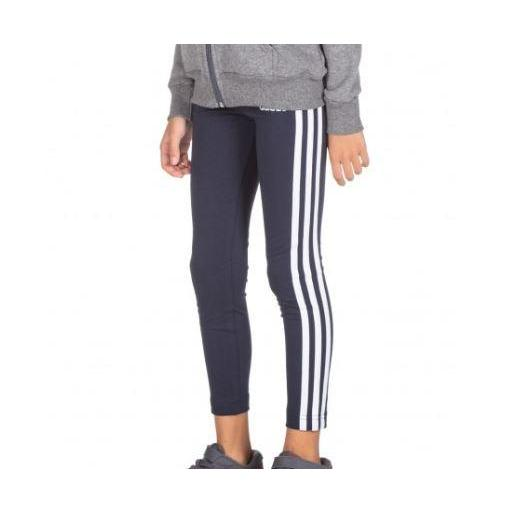 Mallas Niña Adidas Essential 3S. Marino/Blanco. EH6164