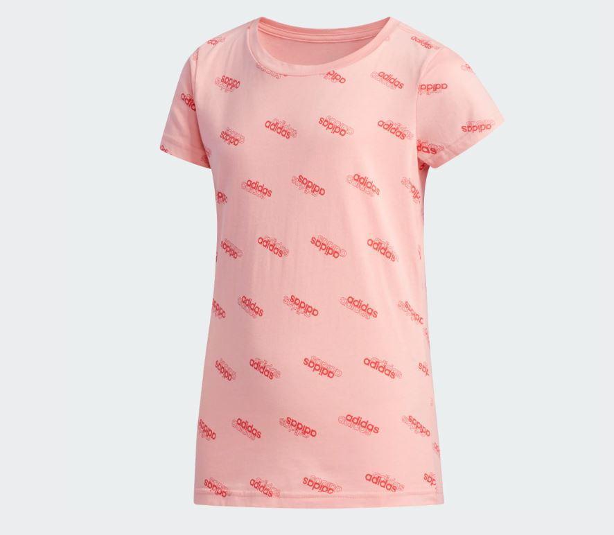 Camiseta Niña Adidas Favorites YG T. FM0749. Pink
