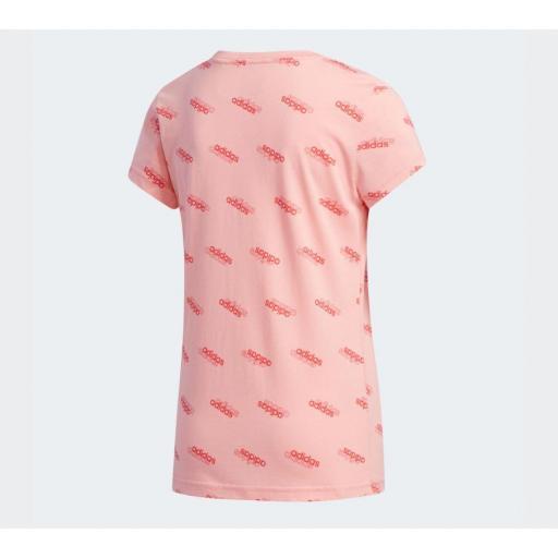 Camiseta Niña Adidas Favorites YG T. FM0749. Pink  [1]