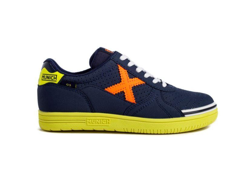 Munich G-3 Kid Profit 159.01511159 Azul/naranja