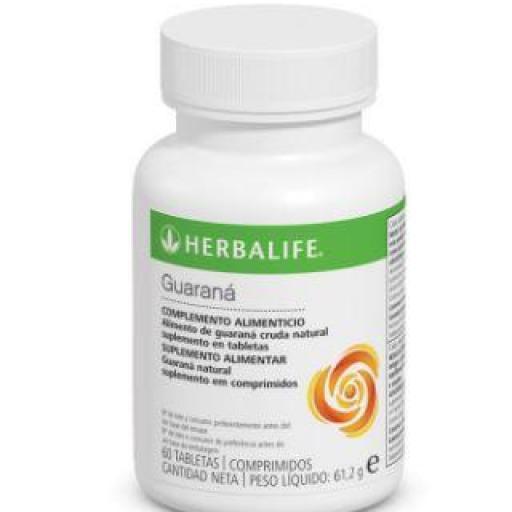 Tabletas Guaraná Herbalife. 60 uds.