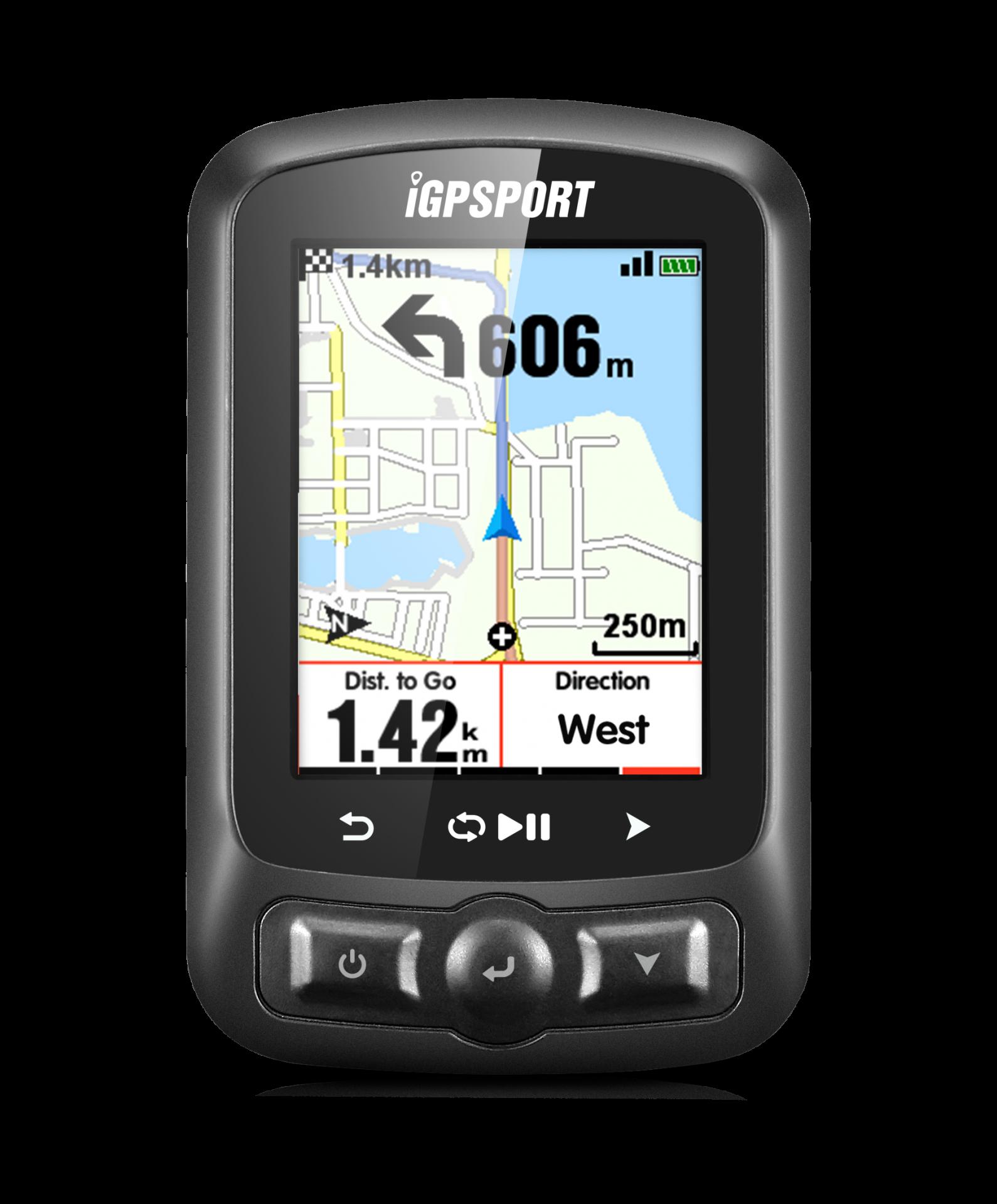 Ciclocomputador GPS iGS620