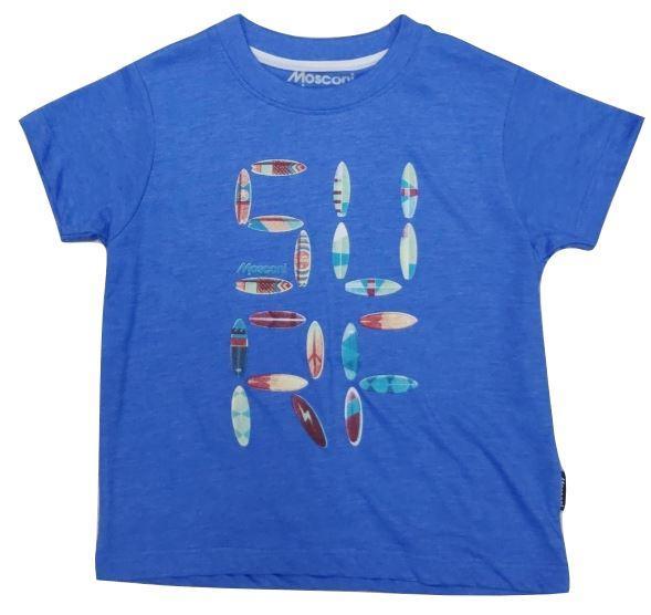 Camiseta Manga Corta Mosconi INU. Royal 235112