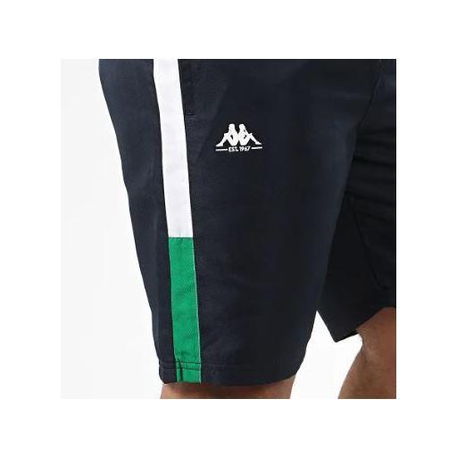 Pantalón Corto Deportivo Kappa Ivabien. 3112E4W Blue navy-white-green. [3]