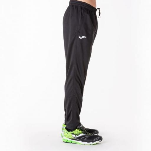 JOMA STAFF Long Pant POLY Interlock Black. 100027.100. Hombre [3]