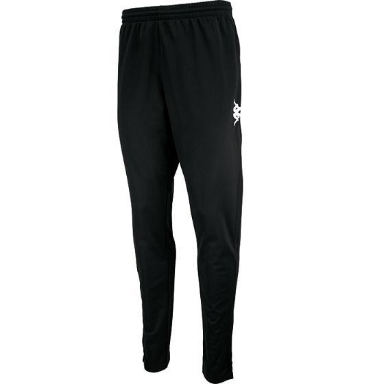 Pantalón de entrenamiento Kappa Ponte Ultra Fit.304IPN0. Negro para hombre.